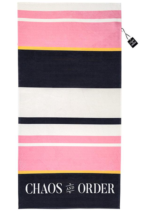 Badhanddoek pink