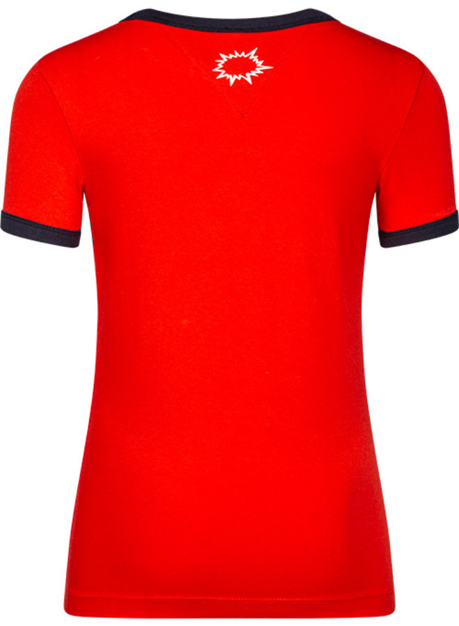 T-shirt Teun red