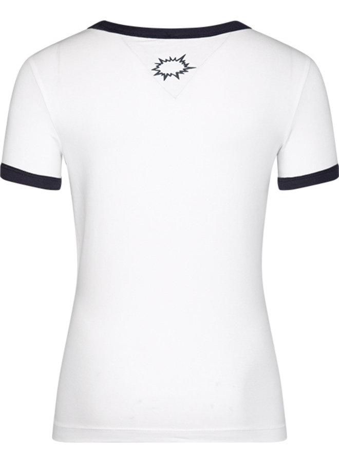 T-shirt Teun off white