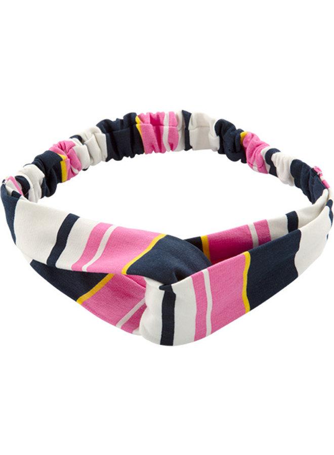 Haarband Tan pink stripe