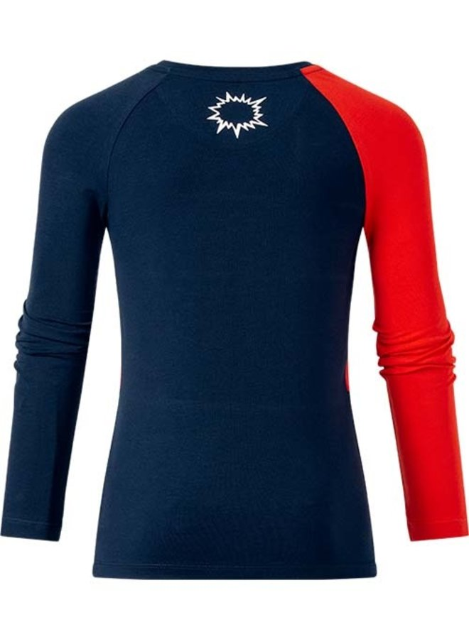 Long sleeve Toon red