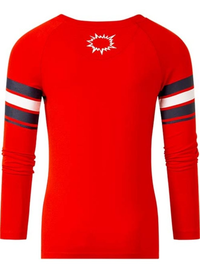 Long sleeve Tino red