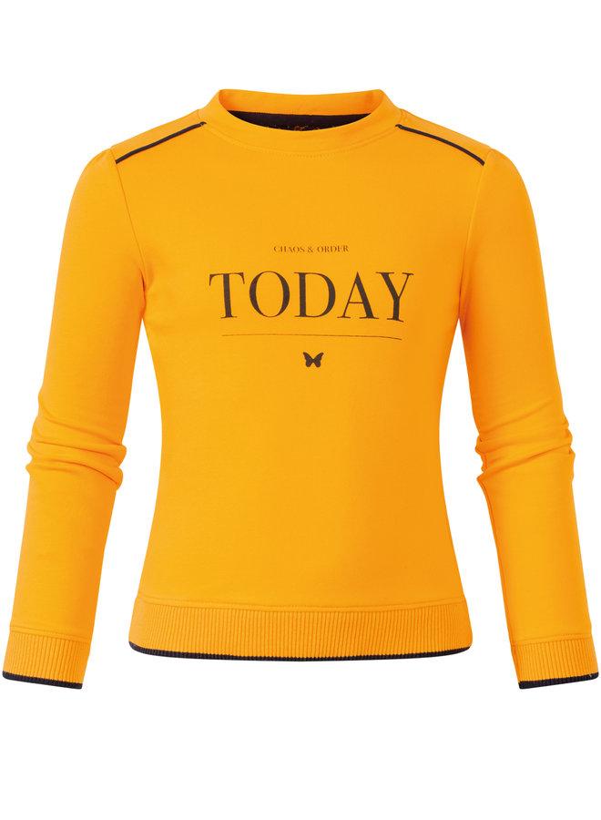 Sweater Phoenix yellow
