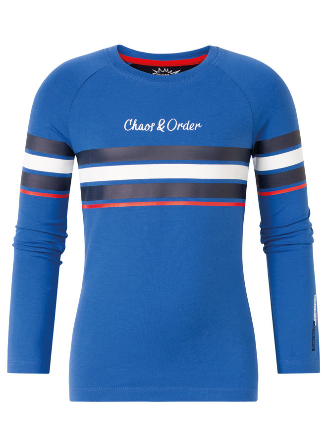 Long sleeve Tino cobalt
