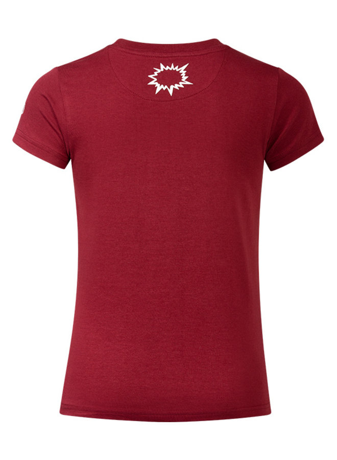 T-shirt Evert dark red