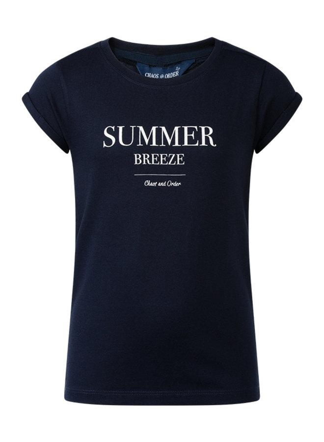 T-shirt Ravi blauw