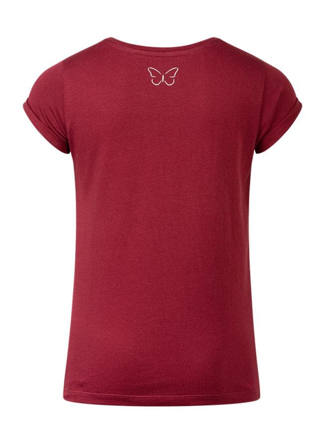 T-shirt Ravi dark red