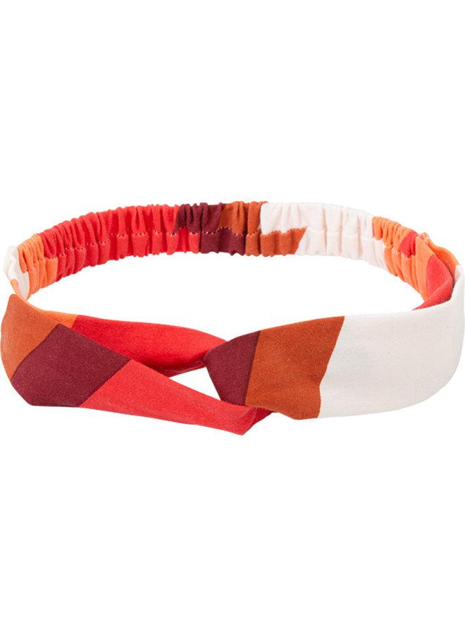 Haarband Tina rood streep