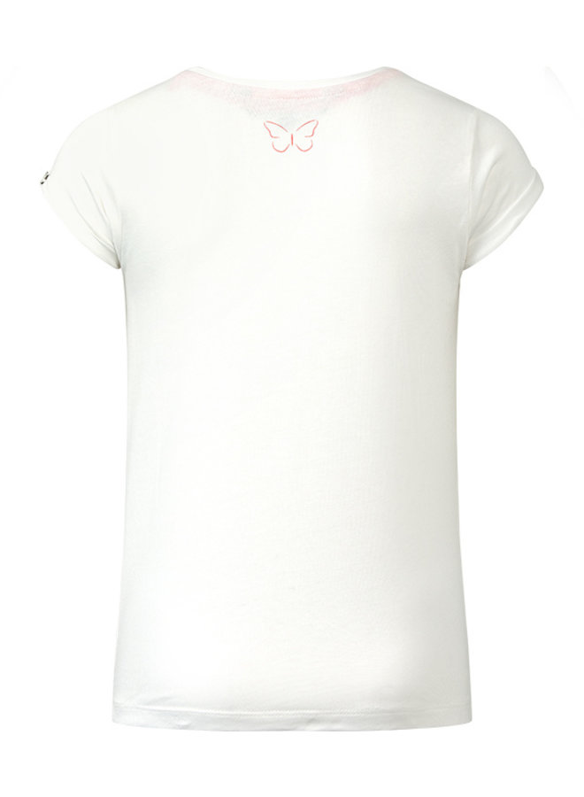 T-shirt Ravi off white/red