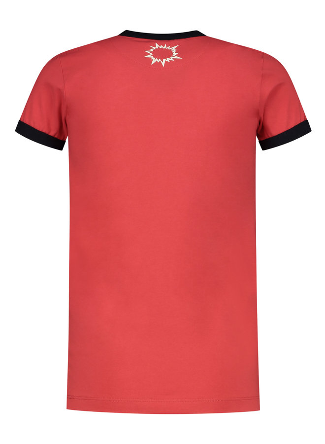 T-shirt Eddie red