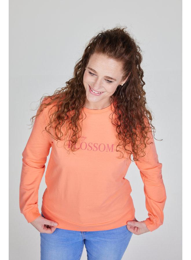 Dames sweater Laura melon