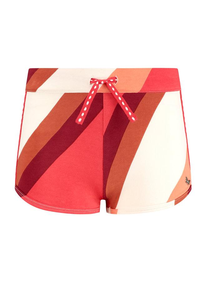 Shorts Sandy rood