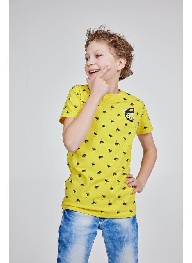 T-shirt Ebbe yellow