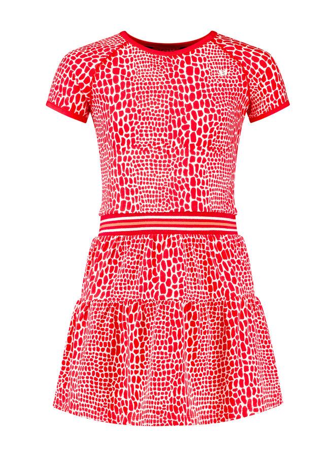 Jurk Nancy rood