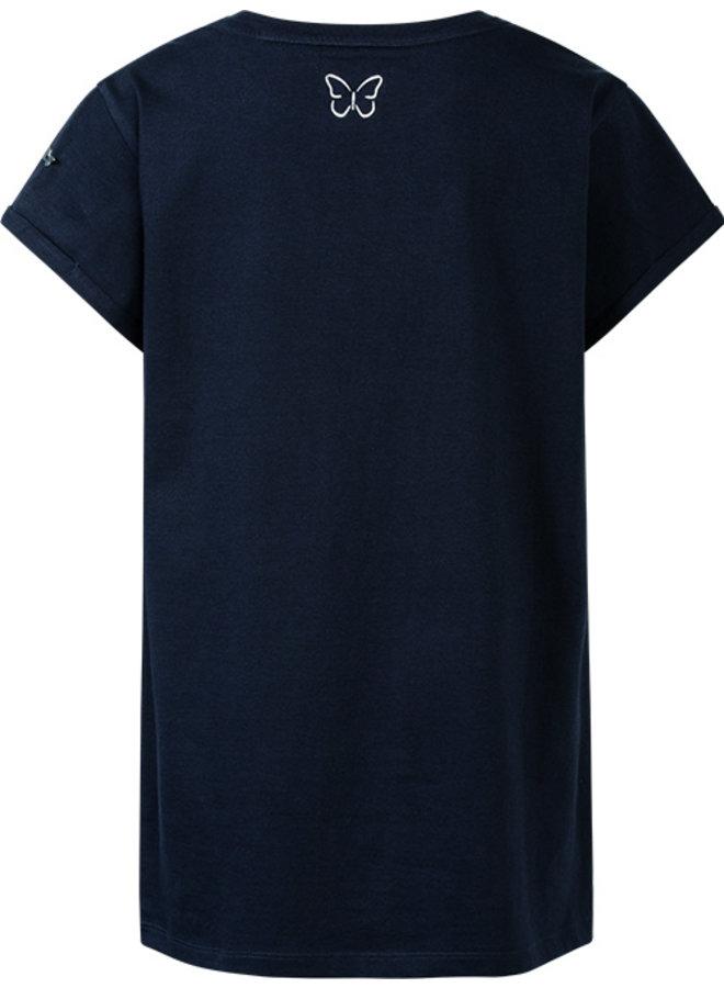 Dames T-shirt blauw