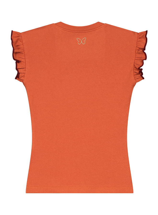 T-shirt  Silke brique