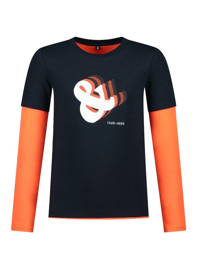 Longsleeve Mats orange