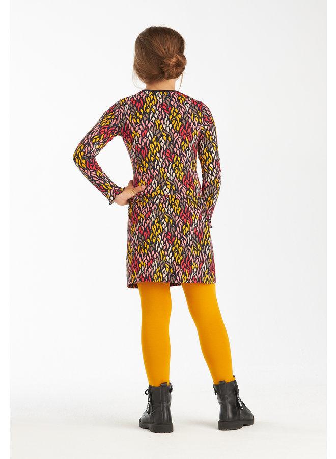 Dress Janice yellow