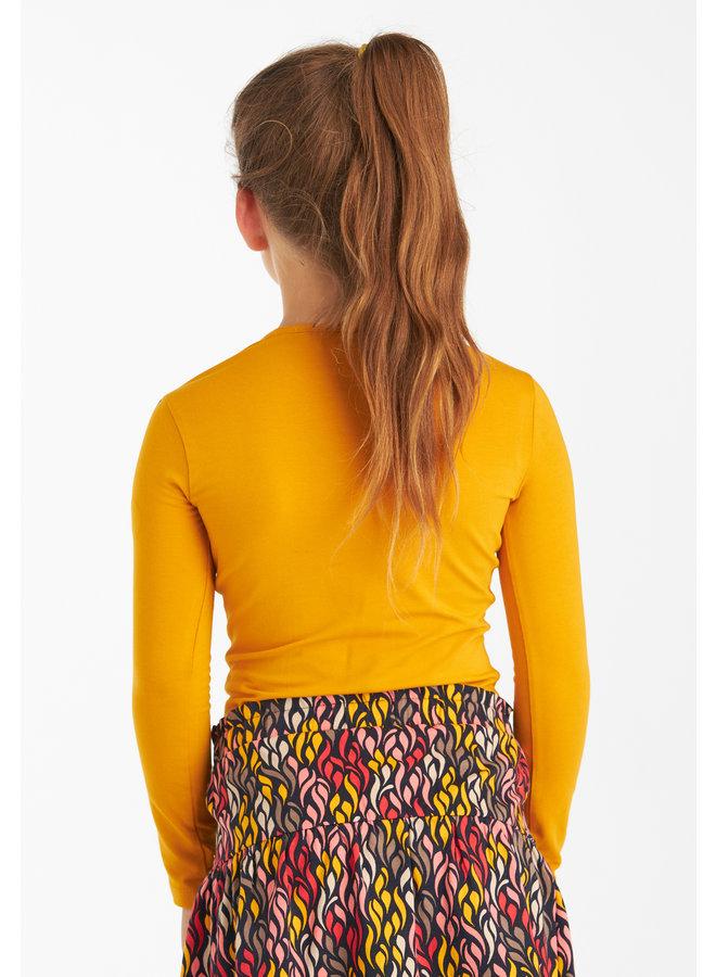 T-shirt Karly yellow