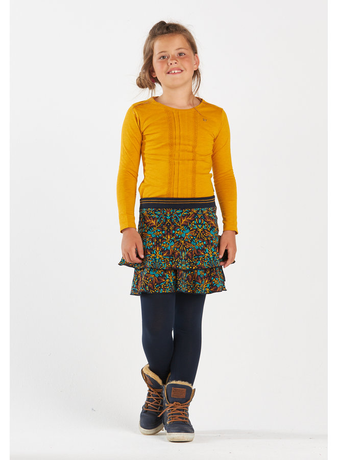 Skirt Inez seagreen