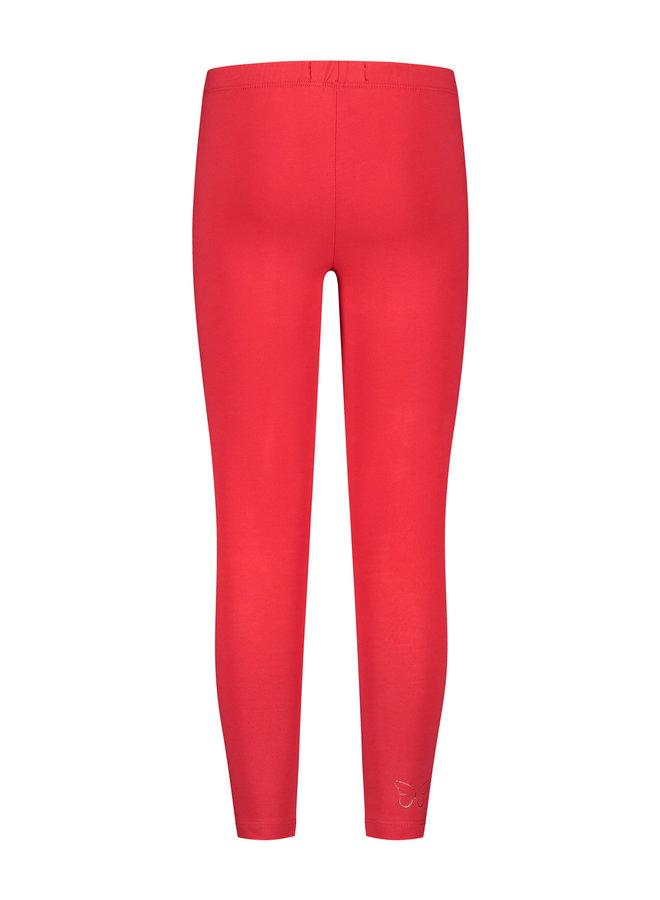 Legging Iris red
