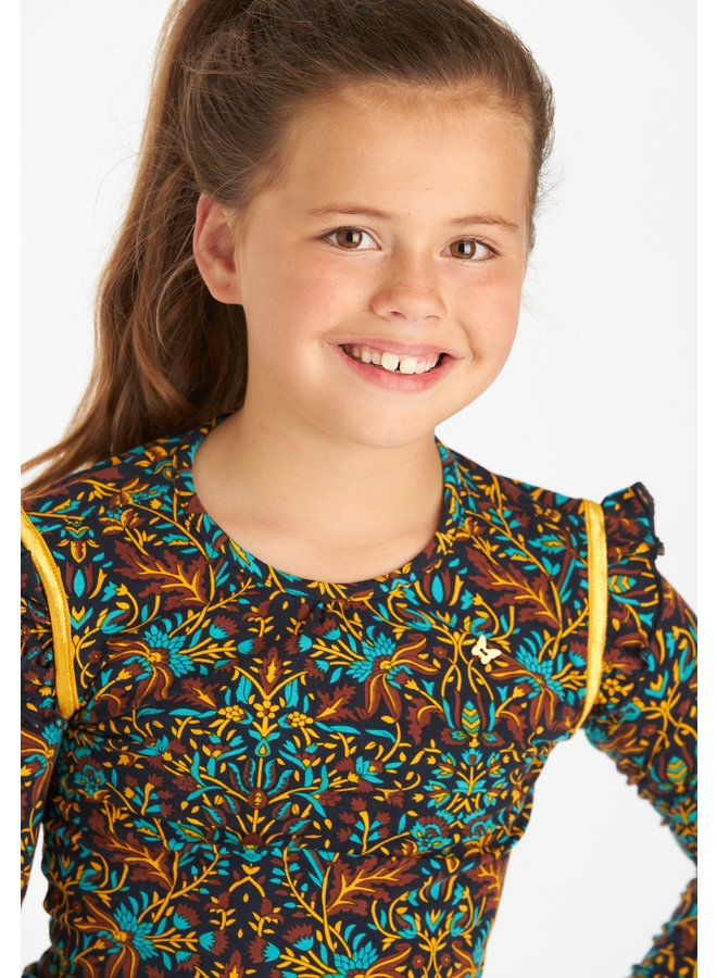 T-shirt lange mouw Katelyn seagreen