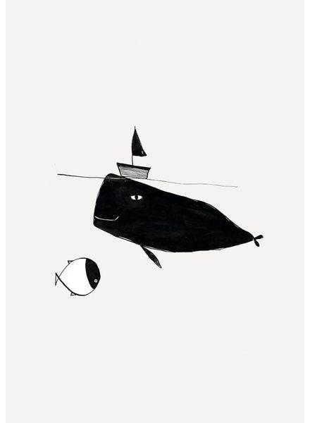 Pomme de Jus riso print walvis