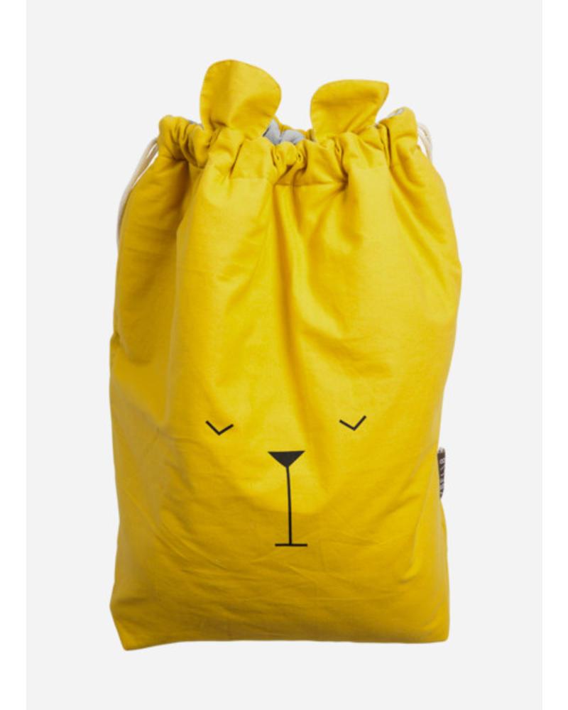 Fabelab Canvas storage bag lazy bear