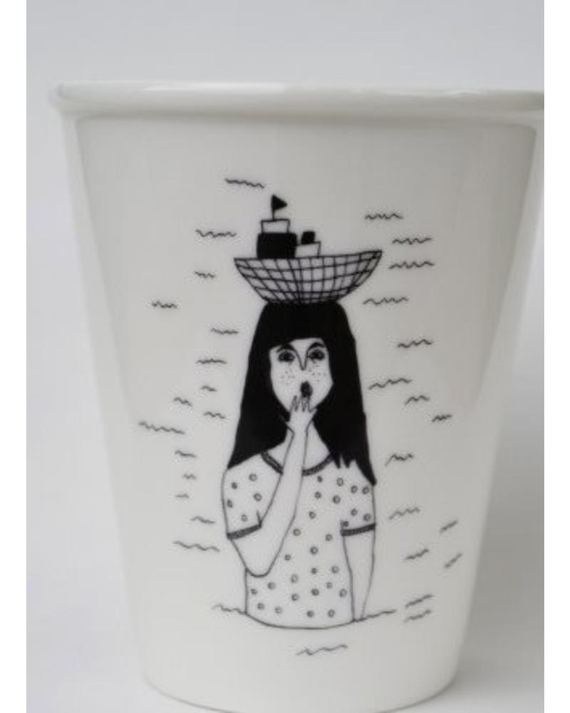 Helen B. Cup boat girl
