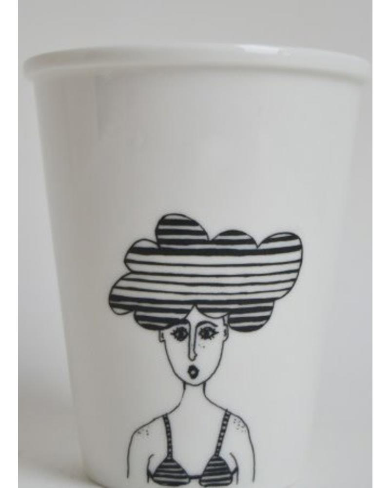 Helen B. Cup cloud girl