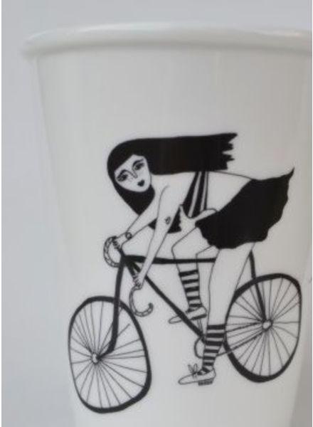 Helen B. Cup fixie girl