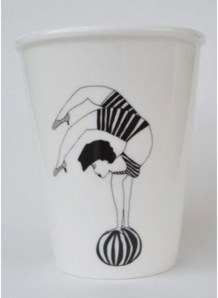 Helen B. cup yoga girl
