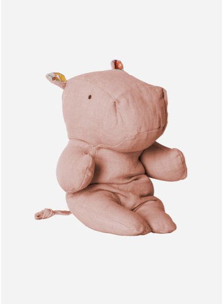 Maileg Safari Friend, Hippo, Rose, Small