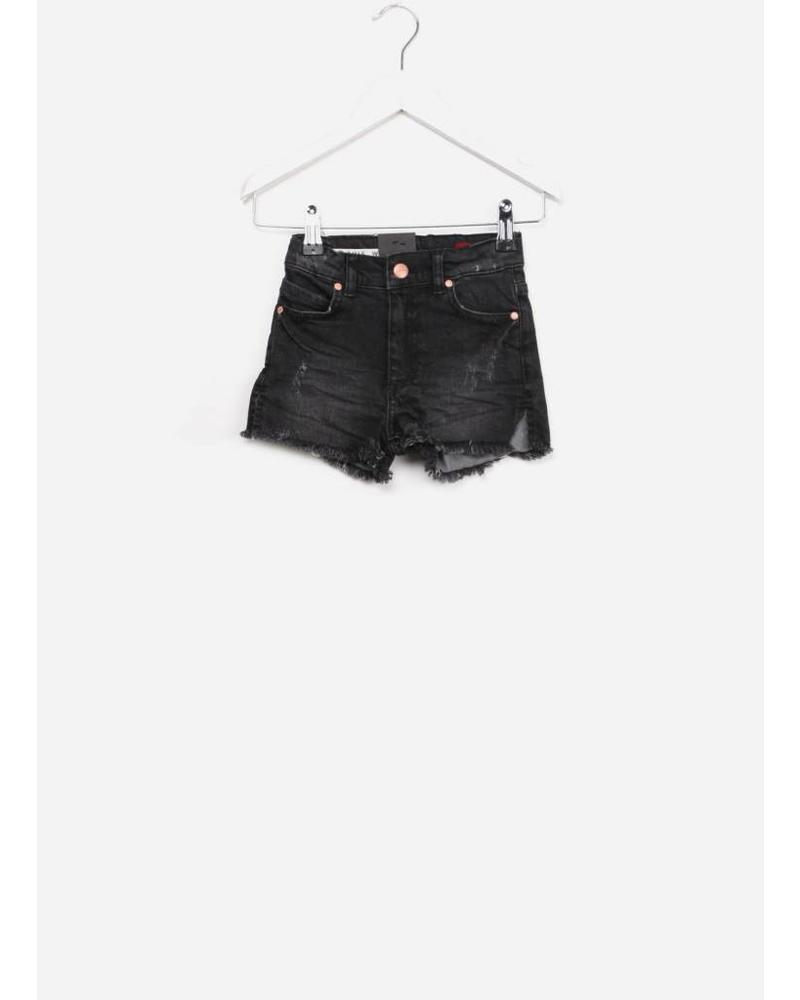 Boof lux girl short grey/ black