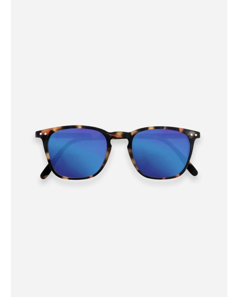 Izipizi sun #E tortoise - blue mirror lenses