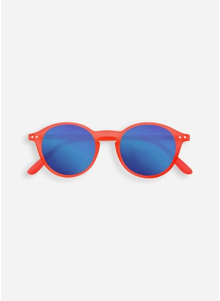Izipizi sun #D orange safran - crystal blue mirror lenses