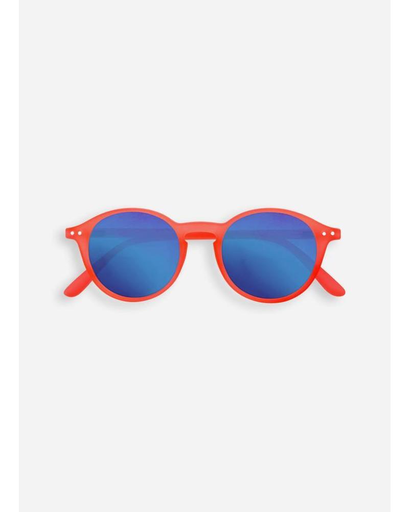 Izipizi sun #D orange safran - crystal blue mirror lenses