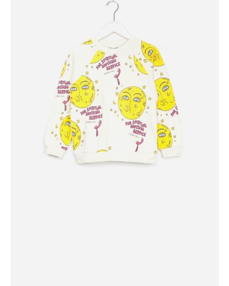 Mini Rodini moon sweatshirt offwhite