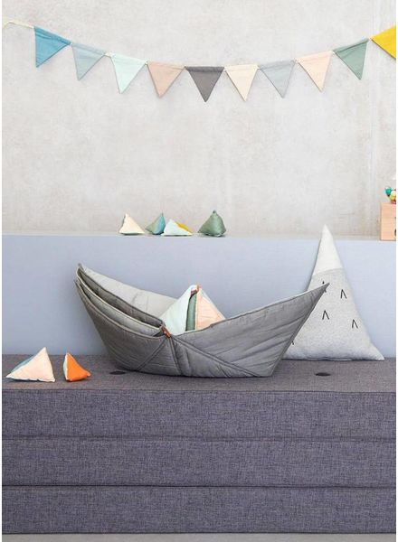 Fabelab play-fold ship blanket