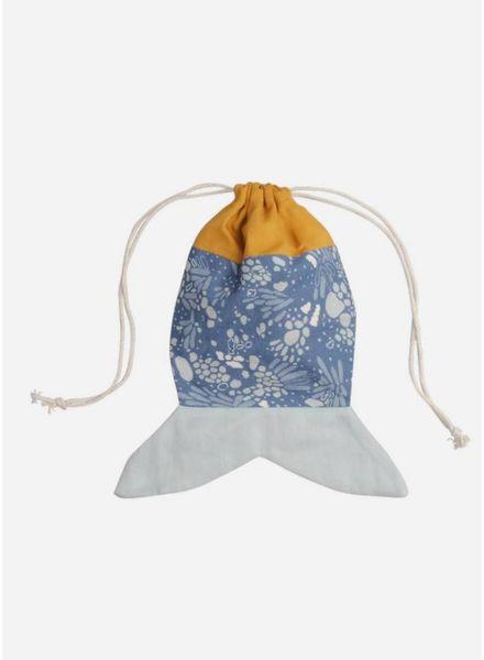 Fabelab fish pouch ochre