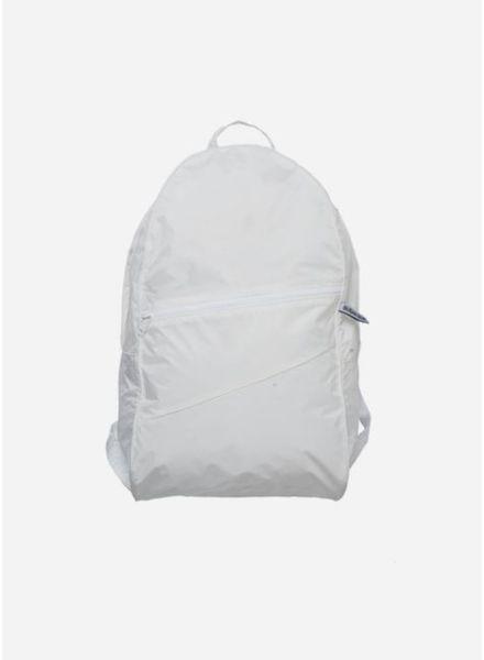 Susan Bijl Foldable backpack wit