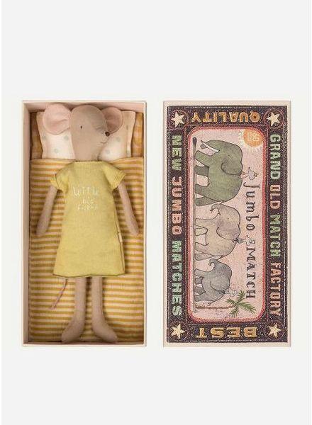 Maileg Mouse, Medium in box, Girl