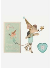 Maileg Mouse, Big Brother, Tooth fairy + Metal box
