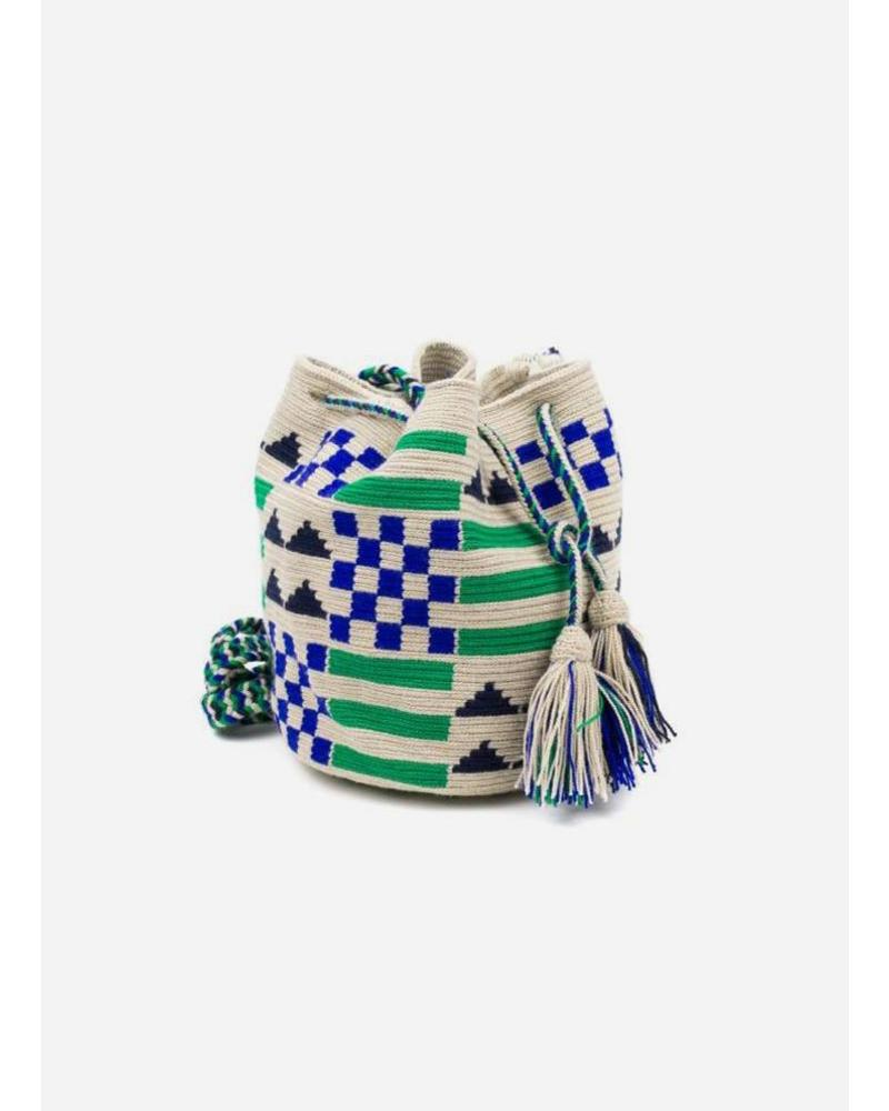 Guanabana extra small Wayuu bag 1121
