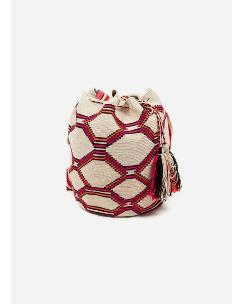 Guanabana extra small Wayuu bag 942