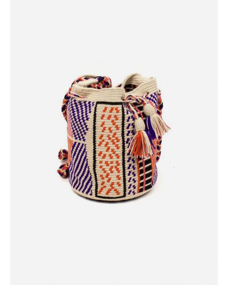 Guanabana extra small Wayuu bag 1112