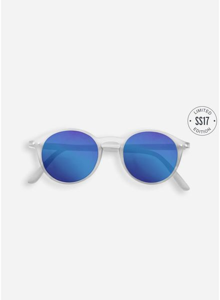 Izipizi Sun #D white crystal - blue mirror lenses