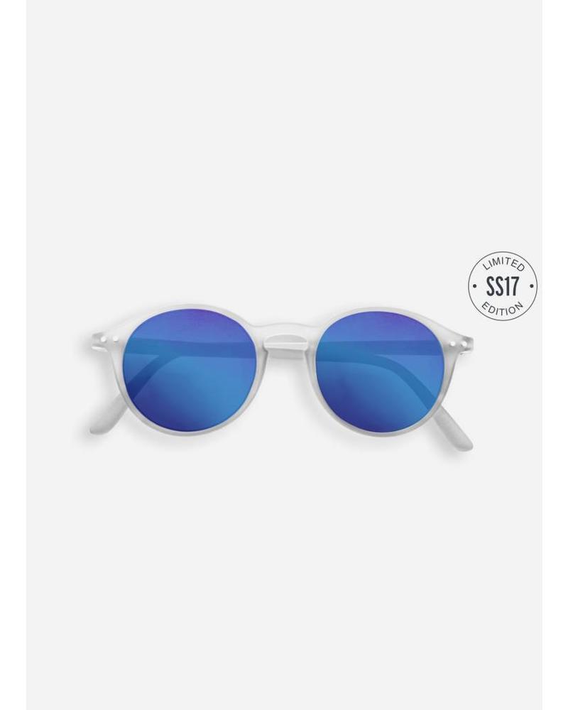 Izipizi Sun #D white crystal - blue mirror lenses