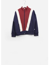 Repose track jacket weathered berry colour