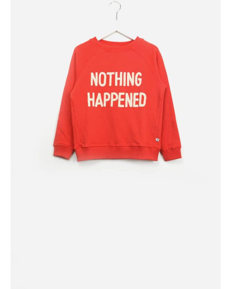 Repose classic sweater smoked red